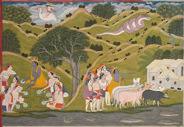 Sequential Series「Krishna Returns With The Cowherds To Braj」:写真・画像(9)[壁紙.com]