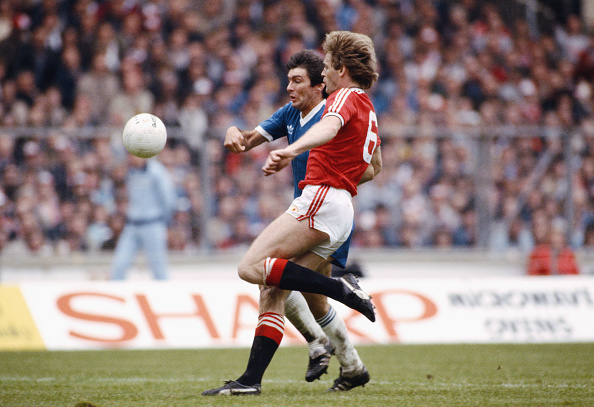 Brighton - England「Gordon Smith 1983 FA Cup Final Manchester United v Brighton」:写真・画像(17)[壁紙.com]