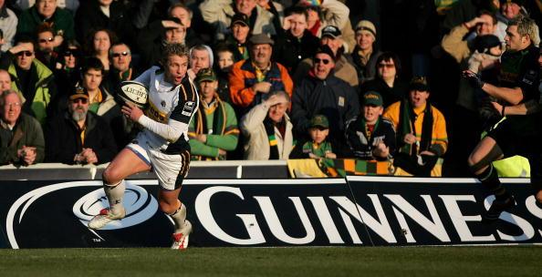 Justin Marshall「Guinness Premiership: Northampton Saints v Leeds Tykes」:写真・画像(13)[壁紙.com]