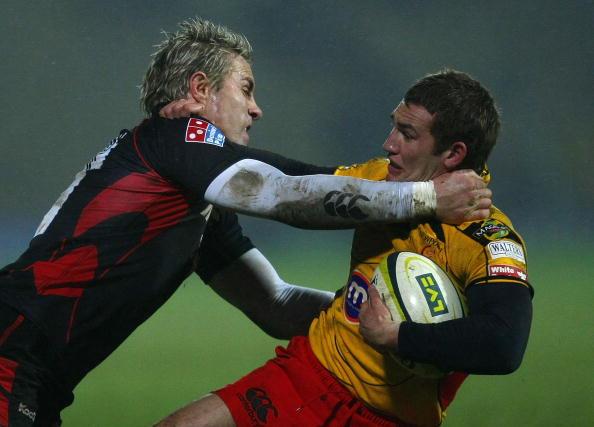 Justin Marshall「Saracens v NG Dragons - LV Anglo Welsh Cup」:写真・画像(3)[壁紙.com]