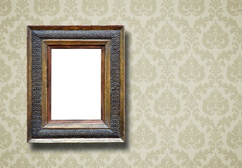 Mirror - Object「Ornate Picture Frame (All clipping paths included)」:スマホ壁紙(2)