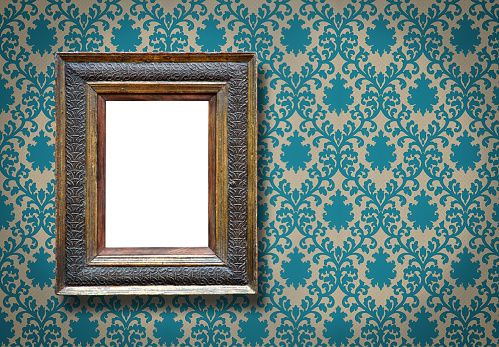 Antique「Ornate Picture Frame (All clipping paths included)」:スマホ壁紙(17)