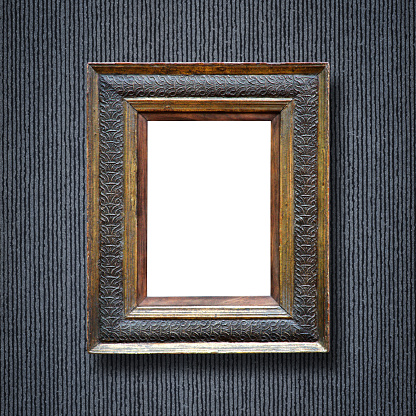 Mirror - Object「Ornate Picture Frame (All clipping paths included)」:スマホ壁紙(1)
