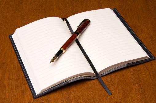 Fountain Pen「Journal」:スマホ壁紙(12)