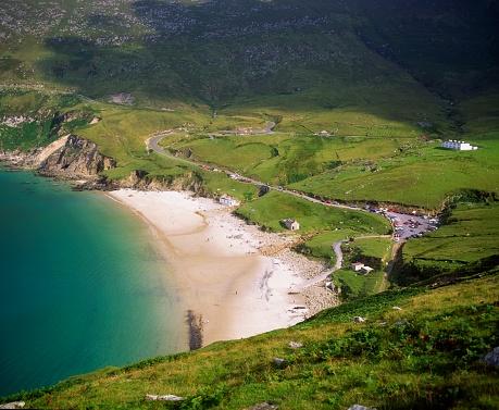 アキル島「Keem Bay, Achill Island, Co Mayo, Ireland」:スマホ壁紙(18)