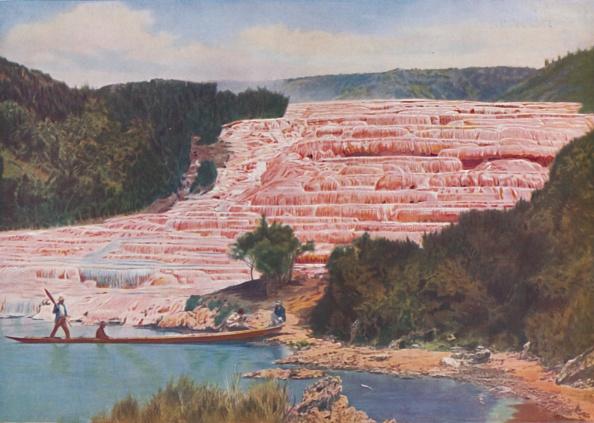 Tourism「Flushed Beauty Of New Zealands Pink Terraces Before Their Utter Destruction C」:写真・画像(1)[壁紙.com]