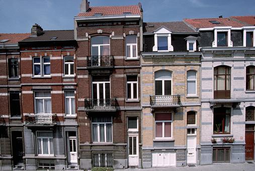 Belgium「Facades of Flemish Houses」:スマホ壁紙(8)