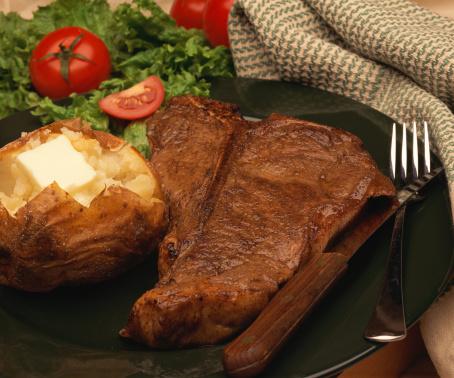 Baked Potato「Steak dinner」:スマホ壁紙(11)