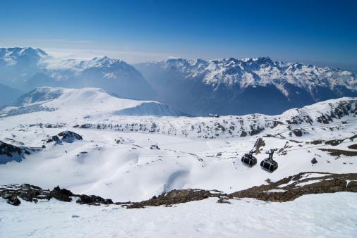 スキー「ラルプ ・ デュエズ」:スマホ壁紙(14)