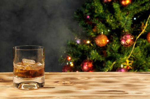 常緑樹「クリスマスのドリンク」:スマホ壁紙(6)