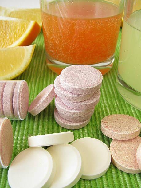 Lemonade tablets with vitamins:スマホ壁紙(壁紙.com)