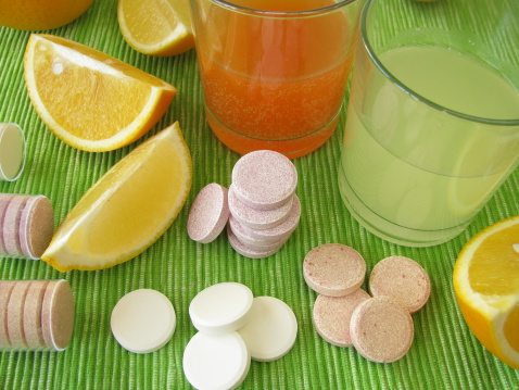 Lemon Soda「Lemonade tablets with vitamins」:スマホ壁紙(5)