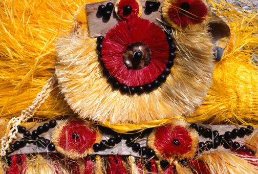 Grass Skirt「Grass skirt, Tahiti, (Close-up)」:スマホ壁紙(10)