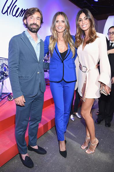 Andrea Pirlo「Esmara By Heidi Klum Lidl Fashion Presentation At New York Fashion Week #Letswow - Front Row/Arrivals」:写真・画像(3)[壁紙.com]