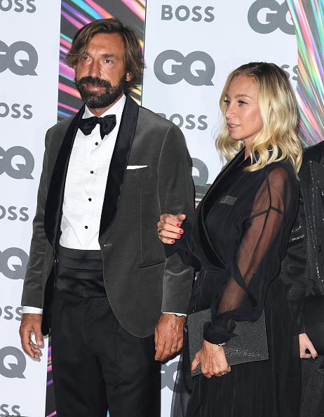 Andrea Pirlo「GQ Men Of The Year Awards 2021 - Red Carpet Arrivals」:写真・画像(1)[壁紙.com]