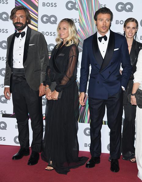 Andrea Pirlo「GQ Men Of The Year Awards 2021 - Red Carpet Arrivals」:写真・画像(19)[壁紙.com]