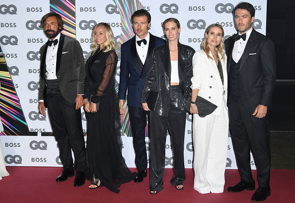 Andrea Pirlo「GQ Men Of The Year Awards 2021 - Red Carpet Arrivals」:写真・画像(10)[壁紙.com]
