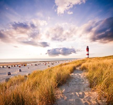 Coastal Feature「Lighthouse in the dunes」:スマホ壁紙(13)