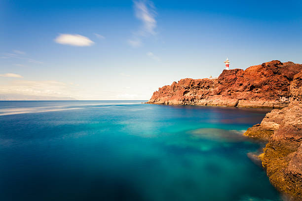 Lighthouse and Ocean in Canary Islands:スマホ壁紙(壁紙.com)