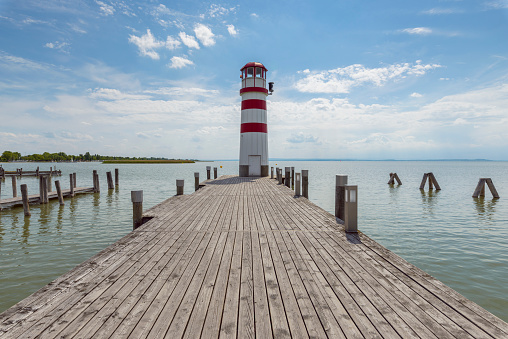 Wooden Post「Lighthouse and wooden jetty」:スマホ壁紙(16)