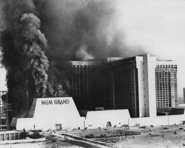 ラスベガス「Fire At The MGM Grand」:写真・画像(14)[壁紙.com]