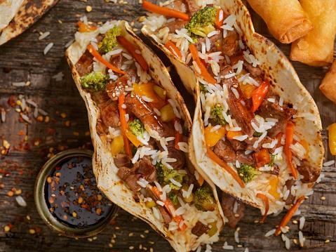 Basmati Rice「Asian/Mexican Fusion - Teriyaki Beef and Rice Tacos」:スマホ壁紙(9)