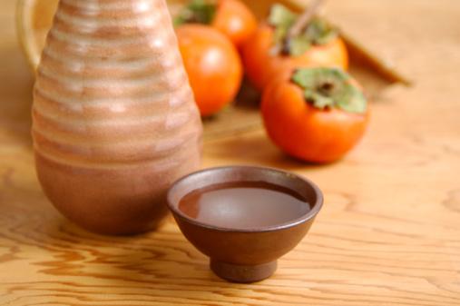 Sake「Sake and persimmon」:スマホ壁紙(0)