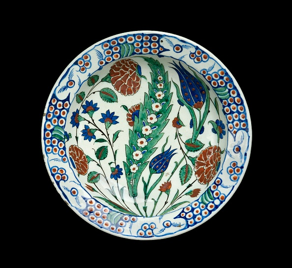 Ceramics「Dish With Leaf And Flowers」:写真・画像(14)[壁紙.com]