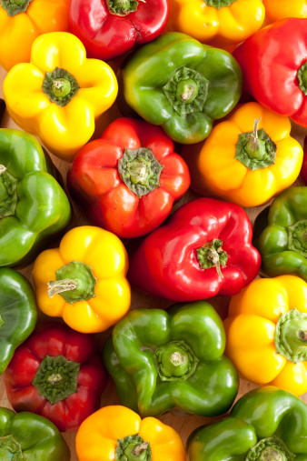 Green Bell Pepper「Bell peppers background」:スマホ壁紙(13)