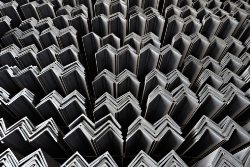 Construction Material「Steel jagged lines all in a row」:スマホ壁紙(2)
