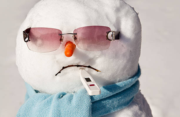 Sick Snowman:スマホ壁紙(壁紙.com)
