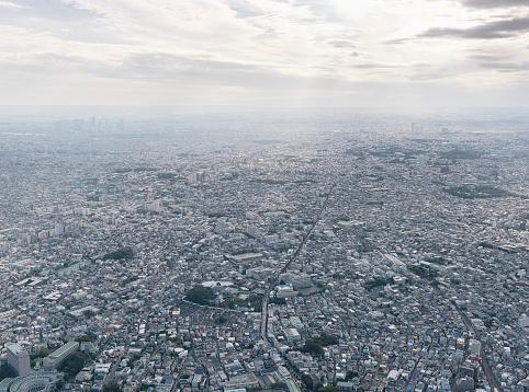 Overcast「Cityscape, Honshu, Tokyo, Kanto Region, Japan」:スマホ壁紙(10)