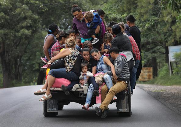 Honduras「Migrant Caravan Pushes North Into Guatemala」:写真・画像(19)[壁紙.com]