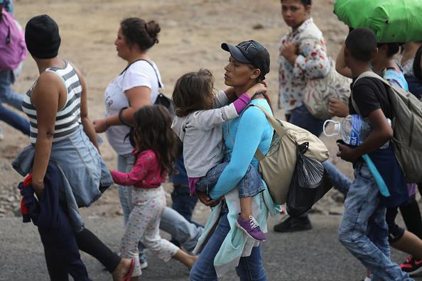 Honduras「Migrant Caravan Pushes North Into Guatemala」:写真・画像(18)[壁紙.com]