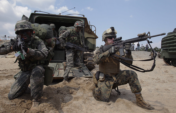 アメリカ合衆国「U.S. And South Korea Marines Hold Landing Operation」:写真・画像(15)[壁紙.com]
