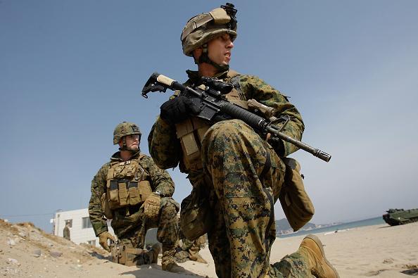 韓国「South Korea And U.S. Marines Conduct Landing Exercise」:写真・画像(13)[壁紙.com]