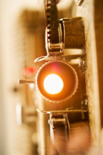 Film Reel「Antique movie projector」:スマホ壁紙(17)
