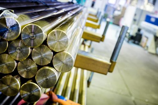 Iron - Metal「Mechanical industry brass bars background」:スマホ壁紙(6)