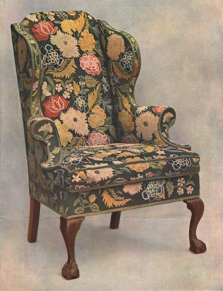 Chair「Walnut Chair Covered With Needlework」:写真・画像(5)[壁紙.com]