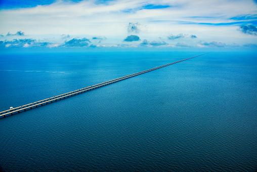 New Orleans「Lake Pontchartrain Causeway Aerial」:スマホ壁紙(17)