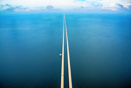 New Orleans「Lake Pontchartrain Causeway Aerial」:スマホ壁紙(5)