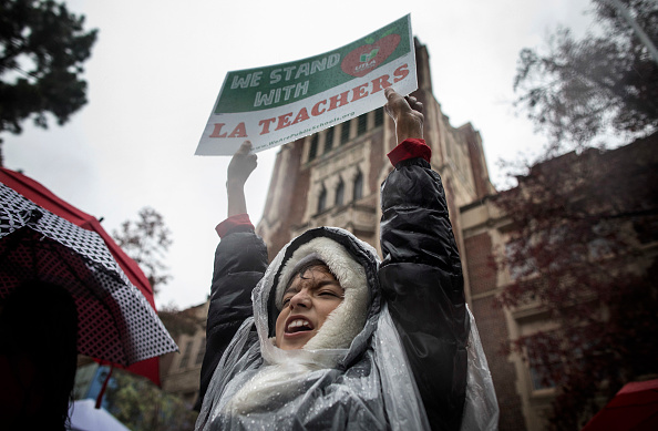 City Of Los Angeles「Los Angeles Teachers Go On Strike」:写真・画像(6)[壁紙.com]