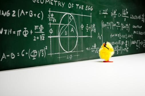 イースター「数学者-オタクイースターチックチキンフモール楽しい数学教育」:スマホ壁紙(12)