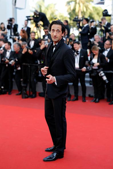 エイドリアン ブロディ「'Based On A True Story' Red Carpet Arrivals - The 70th Annual Cannes Film Festival」:写真・画像(2)[壁紙.com]