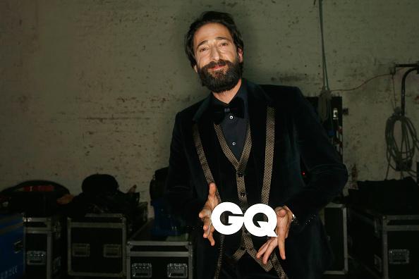 エイドリアン ブロディ「GQ Men Of The Year Award 2014 - Backstage」:写真・画像(2)[壁紙.com]