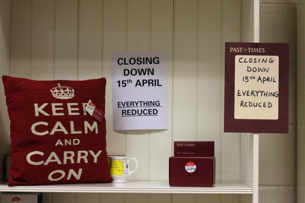 閉める「The British Retail Consortium Announce The Worst Fall In Sales Since Records Began」:写真・画像(4)[壁紙.com]