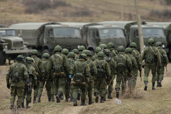 Russian Military「Concerns Grow In Ukraine Over Pro Russian Demonstrations In The Crimea Region」:写真・画像(0)[壁紙.com]