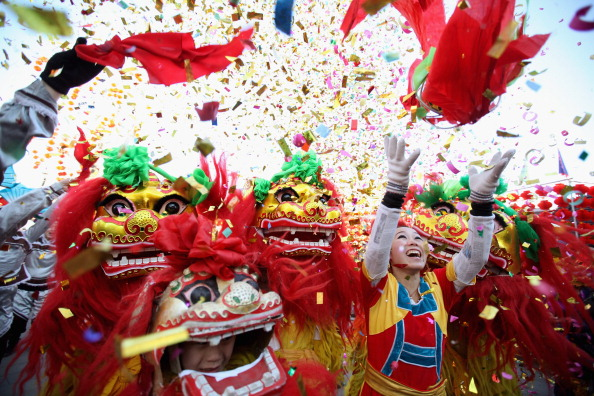 Chinese New Year「China Celebrates The Year Of The Dragon Spring Festival」:写真・画像(5)[壁紙.com]