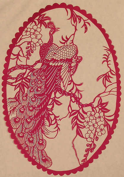 Dye「Chinese Folk Paper-Cuts with Peacock theme」:写真・画像(16)[壁紙.com]