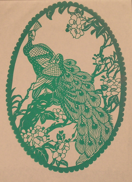 Dye「Chinese Folk Paper-Cuts with Peacock theme」:写真・画像(18)[壁紙.com]
